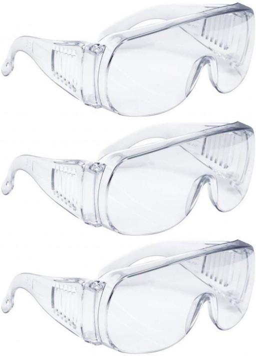 Anti-virus Medical Goggles Anti-fog Safety Glasses High Impact Wrap-around Lens