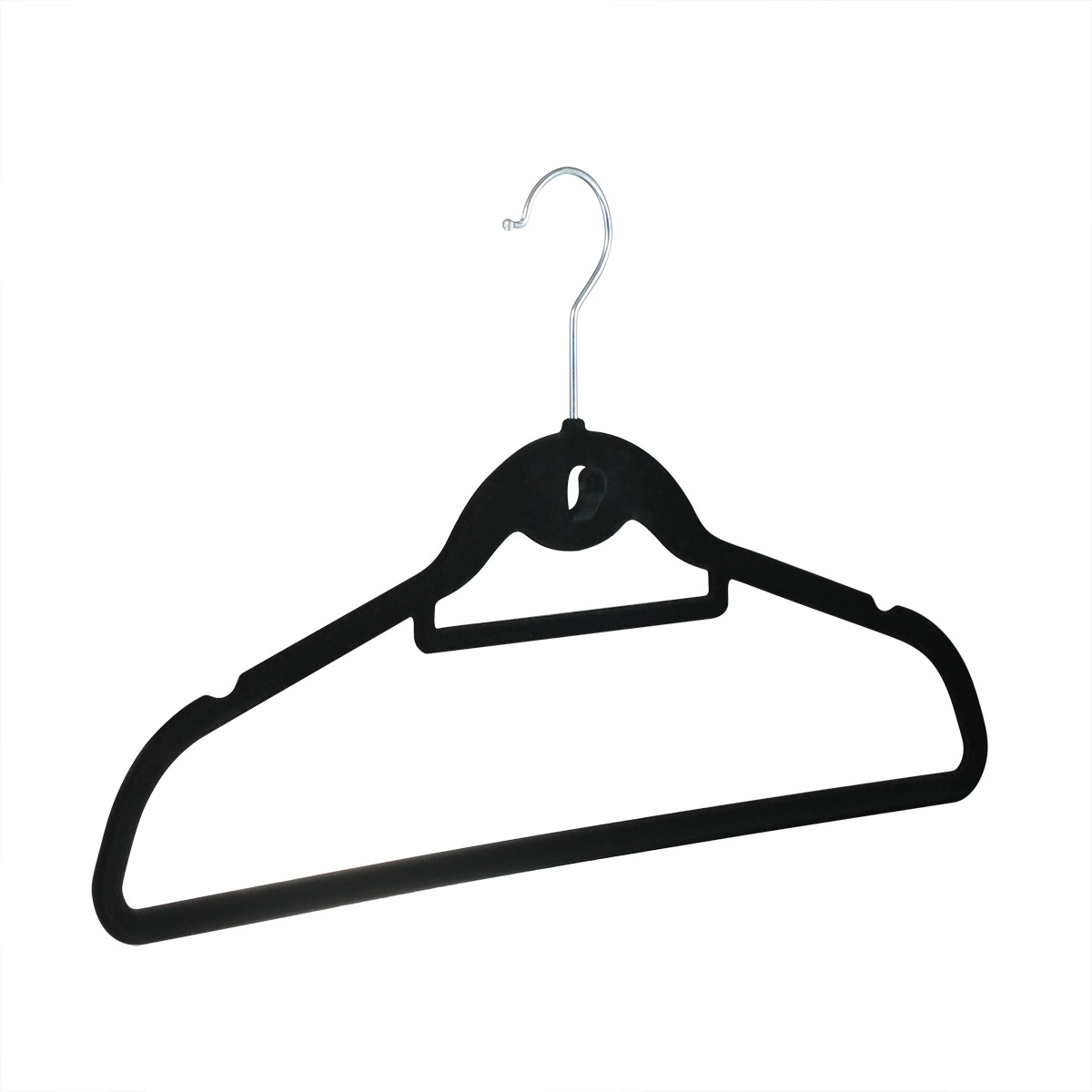 Cascading Velvet Hangers 120 Pack Ultra Thin Non Slip