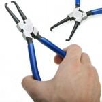 """7"""" Fuel Filter Clamp Line Petrol Clip Pipe Removal Plier Tool Forcep Tong"""