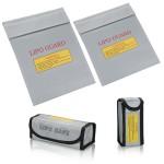Fireproof Explosion proof Lipo Battery Safe Bag Battery Guard Sleeve Lipo Safe Bag Multi Pack of 4