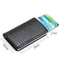 Credit Card Holder Wallet For Men ID Card Business Card Name Card Holder Wallet For Men Black