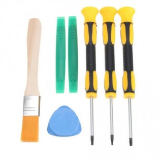 7PC T8 T6 T10 Screwdriver Set Repair Tool For Torx Xbox One Xbox 360 Controller