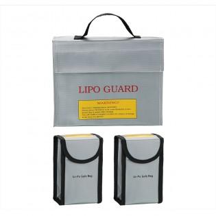 Fireproof Explosion proof Lipo Battery Safe Bag Battery Guard Lipo Safe Bag - Multi Pack of 3