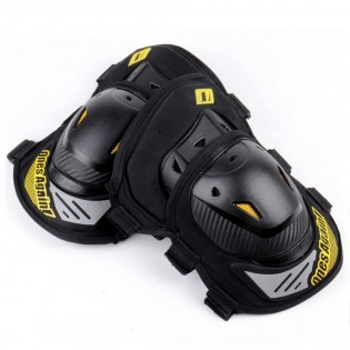 Ones Again! 2PCs Motorcycle Kneepad ATV Motocross Cycling Knee Guard Knee Support Protector Gear for Riding Cycling Skating