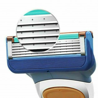 Razor Blade Replacements For Men 5 Layer Blade Refills For Gillette Fusion 5