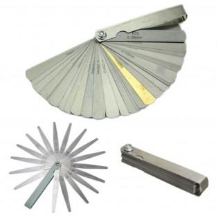 Stainless Steel Feeler Gauge Metric And Imperial Gap Measurement Tool 32 Blades