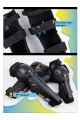 Ones Again! 4PCs Motorcycle Kneepad ATV Motocross Cycling Knee and Shin Guard Knee Support Protector Gear